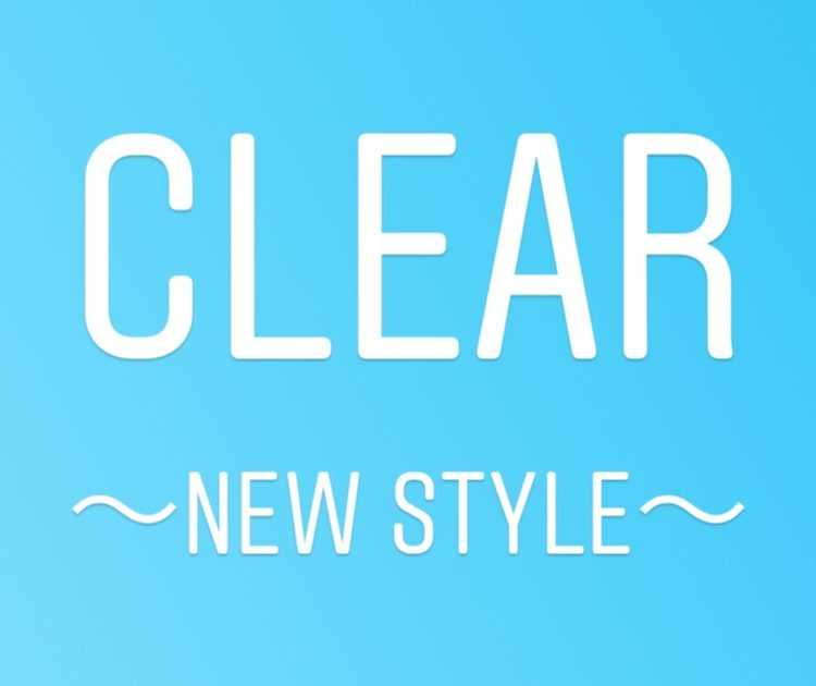 CLEAR NEW STYLE